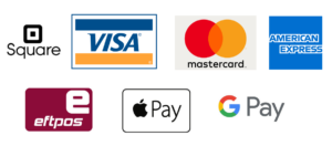 payment types, square, visa, MasterCard, eftpos, amex, Apple Pay, google pay